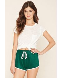 Forever 21 - French Terry Dolphin Shorts - Lyst
