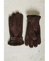 Forever 21 | Men Faux Shearling Gloves | Lyst