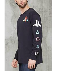 Forever 21 - Playstation Graphic Tee - Lyst