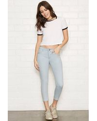 Forever 21 - The Beverly Low Rise Jeans - Lyst