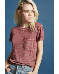 Forever 21 | Mineral Wash Tee | Lyst