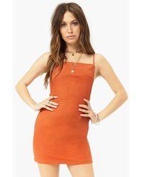 Forever 21 - Tie-back Mini Dress - Lyst