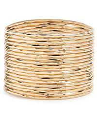 Forever 21 - Hammered Bangle Bracelet Set - Lyst