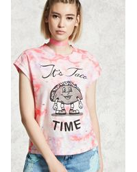 Forever 21 - Its Taco Time Graphic Tee - Lyst