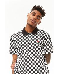 Forever 21 - 's Checkered Print Polo Shirt - Lyst