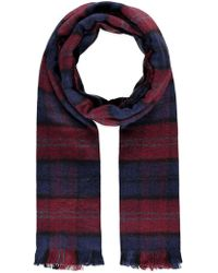 Forever 21 - Plaid Frayed Scarf - Lyst