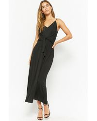 4551b769238 Forever 21 Plus Size Strappy Maxi Dress in Black - Lyst