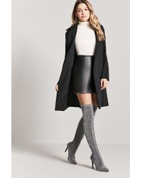Forever 21 | Metallic Knee-high Boots | Lyst