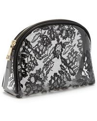 Forever 21 - Clear Floral Makeup Bag - Lyst