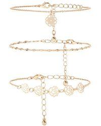 Forever 21 - Assorted Chain Bracelet Set - Lyst