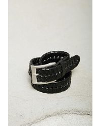 Forever 21 - Men Faux Leather Braided Belt - Lyst