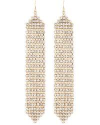 Forever 21 - Rhinestone Duster Earrings - Lyst