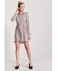 Long sleeve shirt dress rue 21 chambray