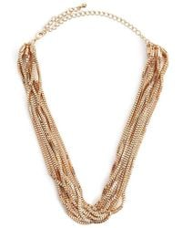 Forever 21 - Layered Box Chain Necklace - Lyst