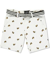 Forever 21 - Drill Clothing Taco Print Shorts - Lyst