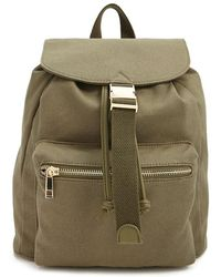 Forever 21 - Canvas Flap-top Backpack - Lyst