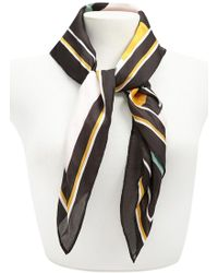 Forever 21 - Colorblock Satin Scarf - Lyst