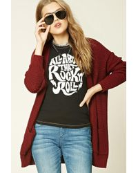 Forever 21 - Rock N Roll Graphic Tee - Lyst