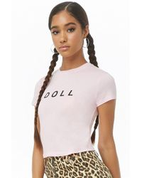 Forever 21 - Doll Graphic Tee - Lyst