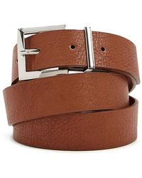 Forever 21 - Textured Faux Leather Hip Belt - Lyst