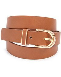FOREVER21 - Faux Leather Belt - Lyst