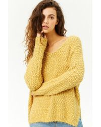 Forever 21 - Fuzzy Knit Sweater - Lyst