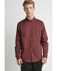 Forever 21 - Classic Buttoned Shirt - Lyst