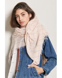 Forever 21 - Checkered Oblong Scarf - Lyst