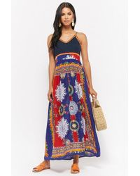 Forever 21 - R By Raga Multi-color Maxi Dress - Lyst