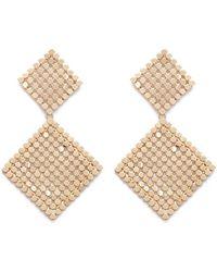 Forever 21 - Women's Tiered Drop Earrings - Lyst