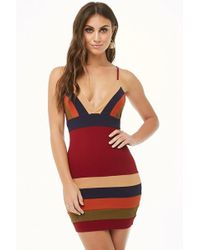 Forever 21 - Multicolored Mini Dress - Lyst