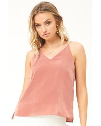 Forever 21 - Satin Cami Top - Lyst