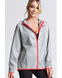 Forever 21 - Active Coated Windbreaker - Lyst