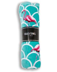 Forever 21 - Scalloped Flamingo Beach Towel - Lyst