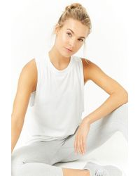Forever 21 - Active Ribbed Muscle Tee - Lyst