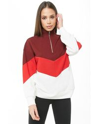 Forever 21 - Sudadera color-block - Lyst