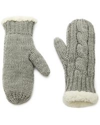 Forever 21 | Faux Shearling Mittens | Lyst