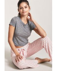 Forever 21 | Stripe Pyjama Bottoms | Lyst