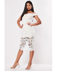 Missguided - Lace Mini Dress At - Lyst
