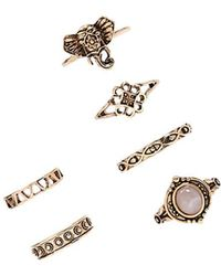 Forever 21 - Etched Ring Set - Lyst
