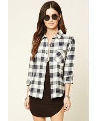 Forever 21 - Tartan Check Flannel Shirt - Lyst