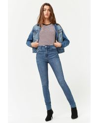 Forever 21 - High-waisted Skinny Jeans - Lyst