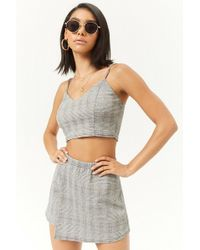 Forever 21 - Glen Plaid Skort - Lyst