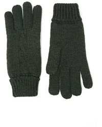 Forever 21 - Men Marled Cable Knit Gloves - Lyst