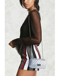 Forever 21 | Clear Quilted Crossbody | Lyst