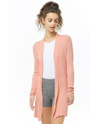 Forever 21 - Active Ribbed Cardigan - Lyst