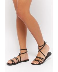 Forever 21 - Braided Gladiator Sandals - Lyst