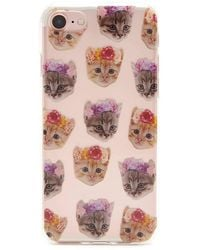 Forever 21 - Cat Graphic Case For Iphone 7 - Lyst