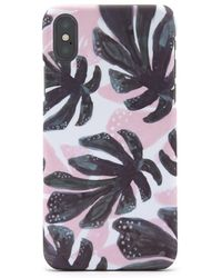 Forever 21 - Tropical Leaf Print Phone Case For Iphone X/xs - Lyst