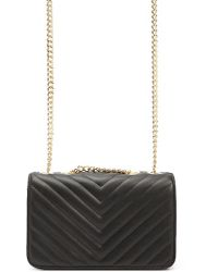 Forever 21 - Quilted Chevron Crossbody - Lyst